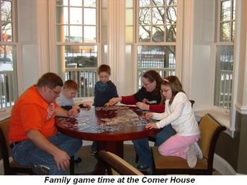 Blog 5 - Family game time at Comer House