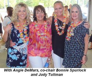 Blog 11 - With Angie DeMars, co-chair Bonnie Spurlock and Judy Tullman