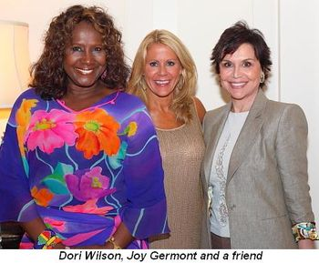 Blog 15 - Dori Wilson, Joy Germont and friend