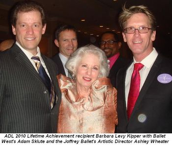 Blog 2 - ADL 2010 Lifetime Achievement recipient, Barbara Levy Kipper