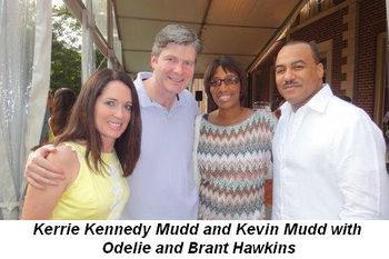Blog 3 - Kerrie Kennedy Mudd and Kevin Mudd with Odelie and Brant Hawkins