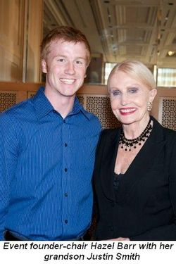 Blog 1 - Event founder-chair Hazel Barr with her grandson Justin Smith