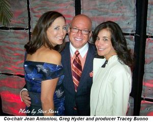 Blog 4 - Co-chair Jean Antoniou, Greg Hyder and show producer Tracey DiBuono