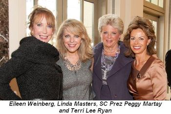 Blog 6 - Eileen Weinberg, Linda Masters, SC Prez Peggy Martay and Terri Lee Ryan