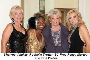 Blog 14 - Sherree Valukas, Rochelle Trotter, SC Prez Peggy Martay and Tina Weller