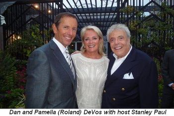 Blog 1 - Dan and Pamella DeVos with host Stanley Paul