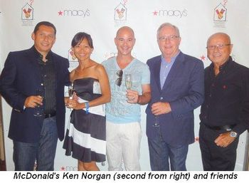 Blog 2 - McDonald's Ken Norgan (2nd from right) with friends