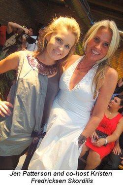 Blog 3 - Jen Patterson with co-host Kristen Fredricksen Skordilis