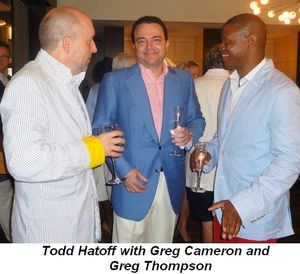 Blog 15 - Todd Hatoff with Greg Cameron and Greg Thompson