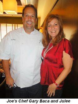 Blog 4 - Joe's Chef Gary Baca and Julee