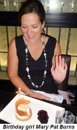 Blog 1 - Birthday girl Mary Pat Burns
