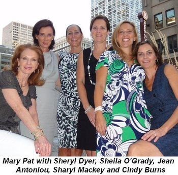 Blog 2 - Mary Pat with Sheryl Dyer, Sheila O'Grady, Jean Antoniou, Sharyl Mackey and Cindy Burns