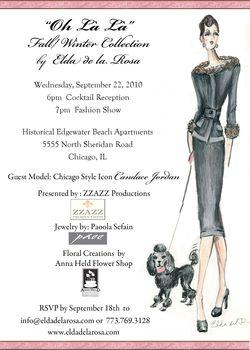 Blog 3 - Elda's Fall-Winter Show Invite