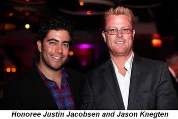 Blog 7 - Honoree Justin Jacobson and Jason Knegten