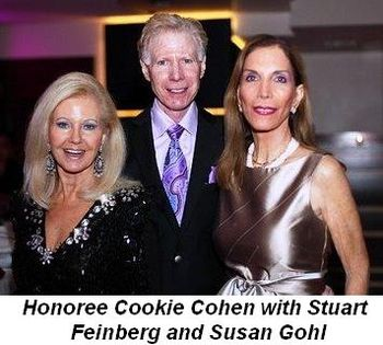 Blog 10 - Honoree Cookie Cohen with Stuart Feinberg and Susan Gohl
