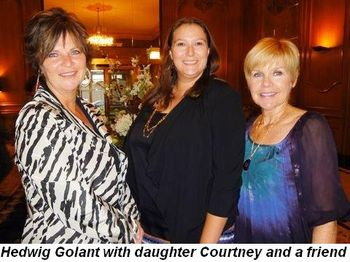 Blog 6 - Hedwig Golant with daughter Courtney and friend