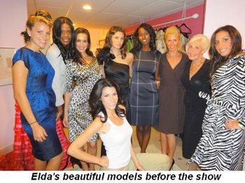 Blog 5 - Elda's beautiful models before the show
