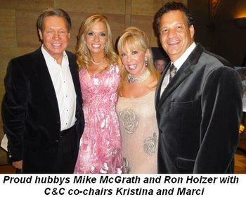 Blog 1 - Proud hubbies Mike McGrath and Ron Holzer with Kristina and Marci