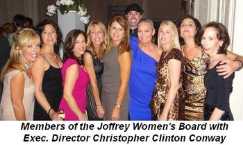 Blog 2 - Members of the Joffrey Women's Board with Executive Director Christopher Conway