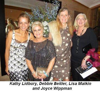 Blog 12 - Kathy Lidbury, Debbie Beitler, Lisa Malkin and Joyce Wippman