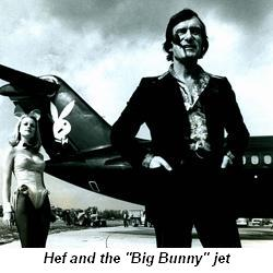 "Blog 1 - Hef and the ""Big Bunny"" jet"