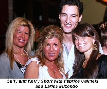 Blog 3 - Sally and Kerry Shorr with Fabrice Calmels and Larisa Elizondo