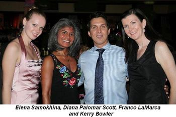 Blog 4 - Elena Samokhina, Diana Palomar Scott, Franco LaMarca and Kerry Bowler and friend