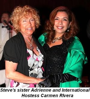 Blog 8 - Steve's sister Adrienne and Intl. Hostess Carmen Rivera