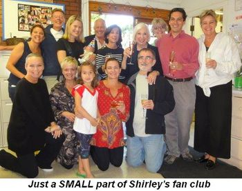 Blog 2 - A SMALL part of Shirley's fan club