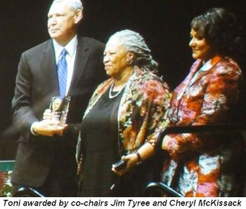 Blog 3 - Co-chairs Jim Tyree and Cheryl McKissack present award