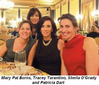 Blog 2 - Mary Pat Burns, Tracey Tarantino, Sheila O'Grady and Patricia Dart