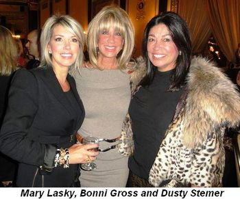 Blog 6 - Mary Lasky, Bonni Gross and Dusty Stemer