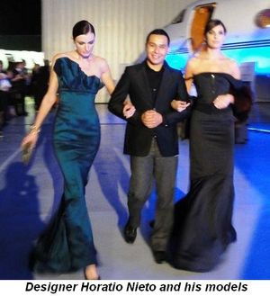 Blog 2 - Designer Horacio Nieto and his models