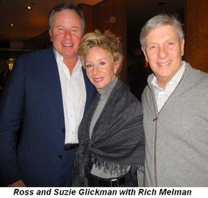 Blog 5 - Ross and Suzie Glickman with Rich Melman