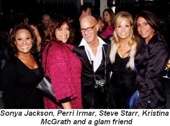 Blog 4 - Sonya Jackson, Perri Irmar, Steve Starr, Kristina McGrath and glam friend