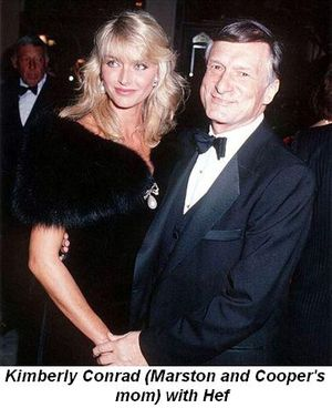 Blog 3 - Kimberly Conrad (Marston and Cooper's mom) and Hef