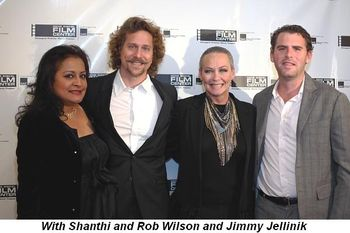 Blog 10 - With Shanthi and Rob Wilson and Jimmy Jellinik