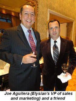 Blog 7 - Joe Aguilera (VP Sales and Marketing Elysian) and friend