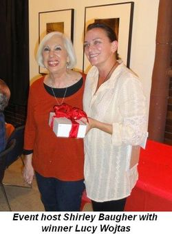 Blog 1 - Event Host Shirley Baugher with winner Lucy Wojtas