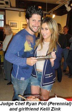 Blog 2 - Judge Chef Ryan Poli (Perennial) and girlfriend Kelli Zink