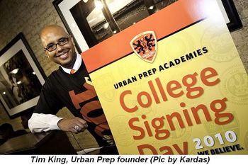 Blog 1 - Tim King, Urban Prep founder. (Pic by Kardas)