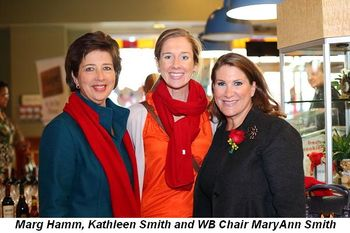 Blog 5 - Marg Hamm, Kathleen Smith and WB Chair MaryAnne Smith