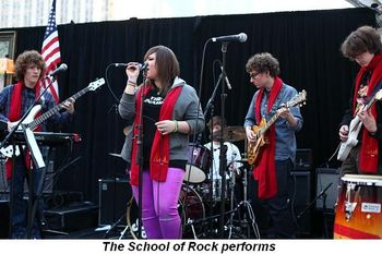 Blog 12 - The School of Rock performs