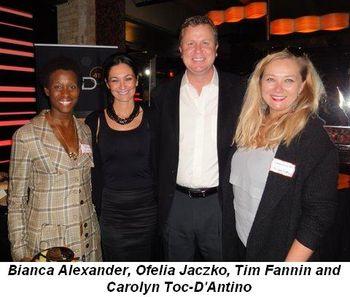 Blog 2 - Bianca Alexander, Ofelia Jaczko, Tim Fannin and Carolynn Toc-D'Antino