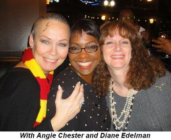 Blog 6 - With Angie Chester and Diane Edelman after VIP after-party