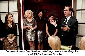 Blog 2 - Co-hosts Lynne Bredfeldt and Whitney Lasky with T & C's Stephen Drucker
