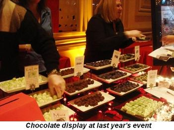 Blog 2 - Chocolate display at last year's event