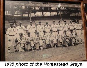 Blog 10 - 1935 photo of the Homestead Grays