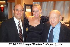 Blog 17 - 2010 Chicago Stories playwrights