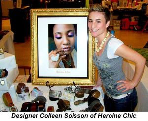 Blog 7 - Designer Colleen Soisson of Heroine Chic